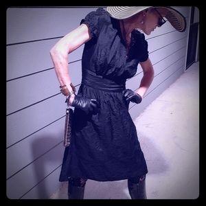 Converse Black Silk-type Dress